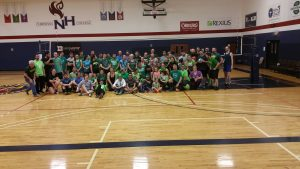 Go Local Volleyball Tournament Group Picture